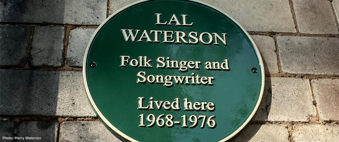 Lal Waterson plaque